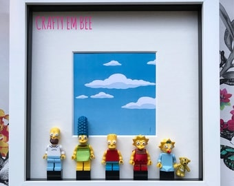 LEGO Simpsons Frame