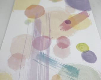 Abstract water color notepad !