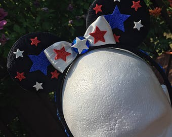Mickey ear star headband