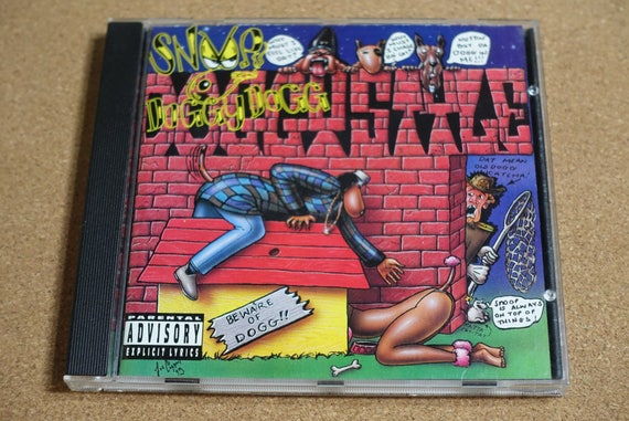 Doggystyle by Snoop Doggy Dogg Vintage CD Compact Disc