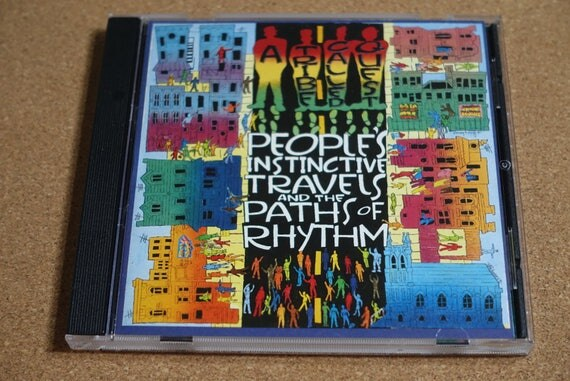 People's Instinctive Travels And The Paths Of Rhythm by A Tribe Called Quest Vintage CD Compact Disc