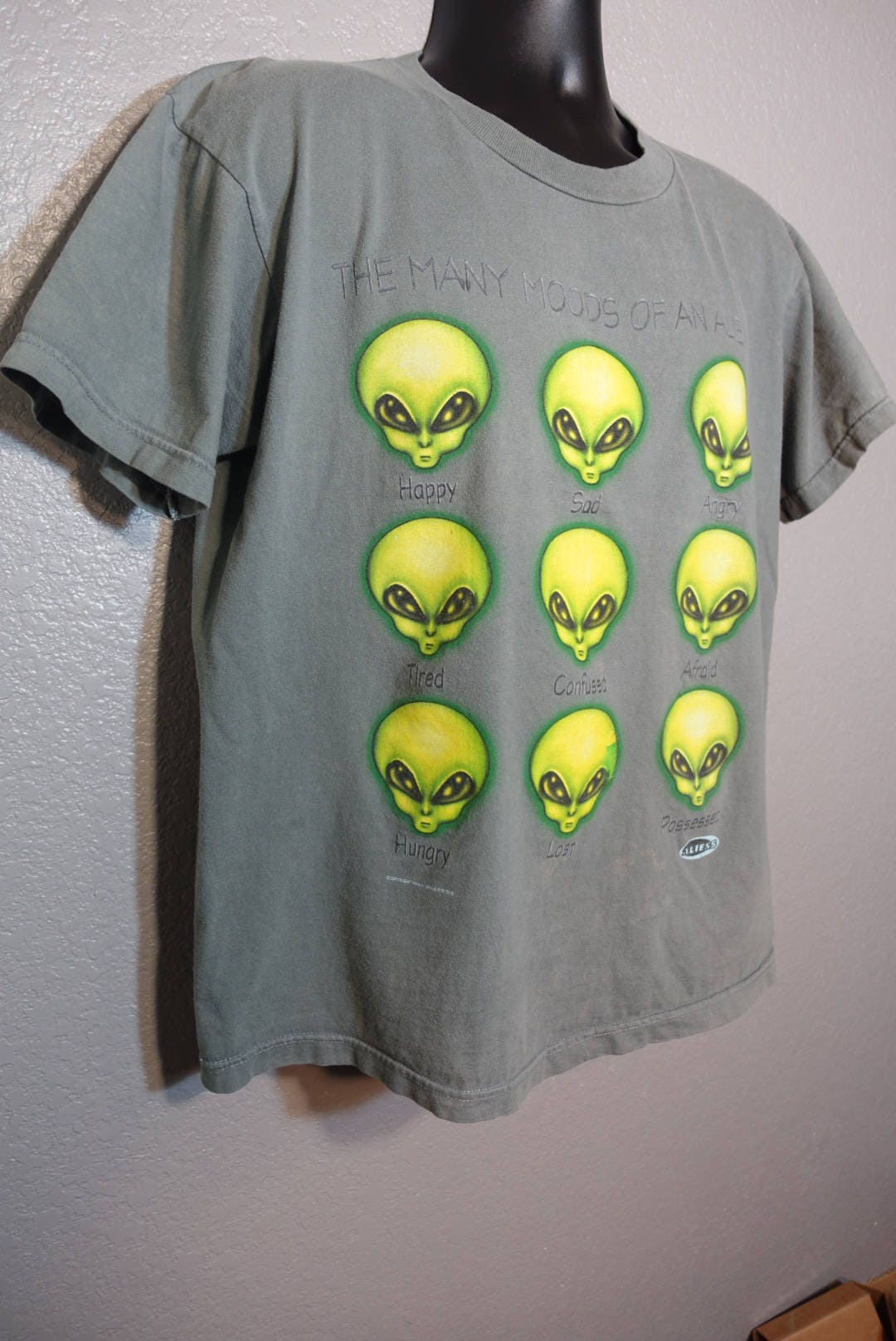 1996 RARE Alien Workshop - The Many Moods of an Alien - Skater ...