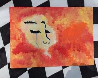 Sun Woman print