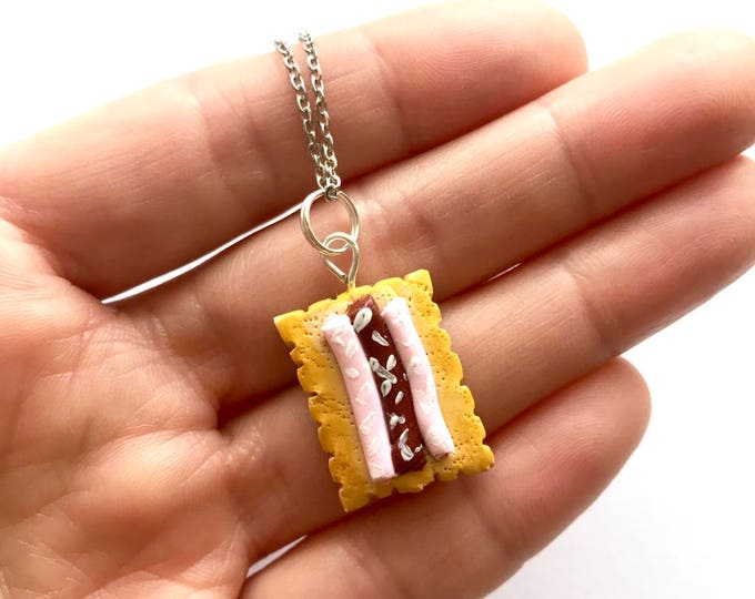 Iced Vovo Pendant or Brooch - A Classic Australian Biscuit Charm that you can wear!