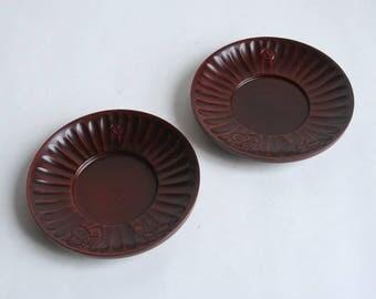 Japanese vintage saucers,Chataku,Japanese tea bowl's saucer