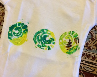 Round Abstract Shapes Onesie or Child's Tee