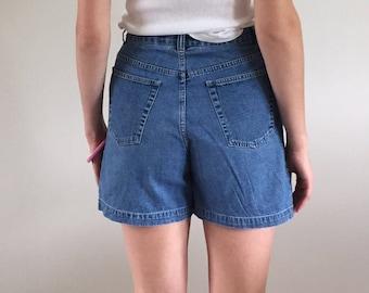 Vintage 90s High Waisted Jean Shorts Denim Shorts
