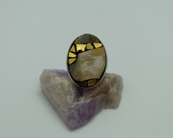 Oval Adjustable ring