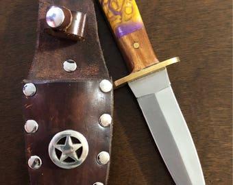 Acrylic handle knives