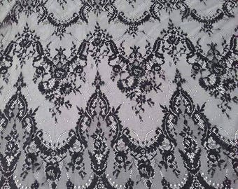 Lace Fabric/French Chantilly Lace