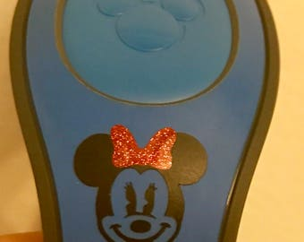 FREE SHIPPING Minnie Mouse Magic Band Decalsl!
