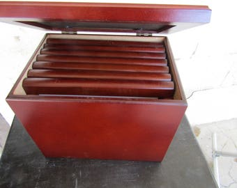 Rosewood Photo Box