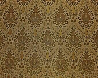Jim Thompson Truffe Silk Linen Fabric by the yard