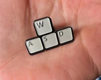 WASD Keyboard Soft Enamel Pin