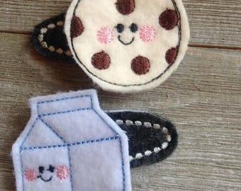 Cookies and Milk Clip Set