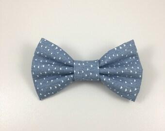 Light Denim Bow Tie
