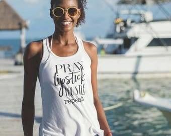 Pray Hard Shirt Etsy