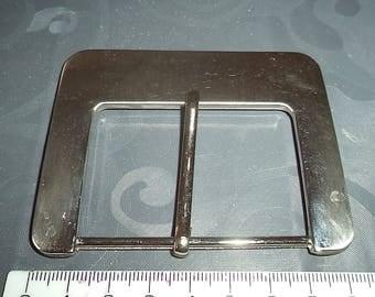 width 6 cm from silver metal belt buckle