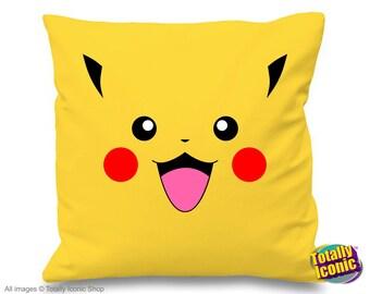 Pokemon Pikacho Logo - Pokemon - Pillow/Cushion Cover