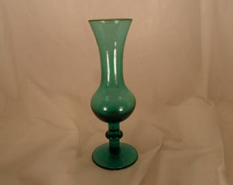 hand-blown bud vase