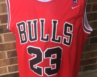 45923942569 ... Chicago Bulls Basketball Michael Jordan jersey 23 chitown red black  bred 2xl Nike bootleg New without ...