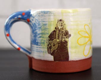 POP Willie Nelson Mug