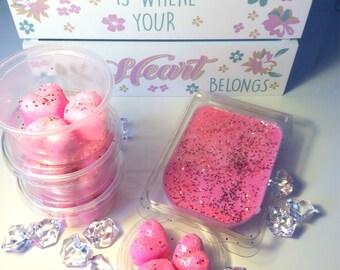Pink Champagne wax melt