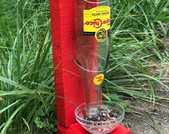Primitive bird feeder