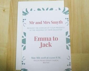 Forever & Always Wedding Invitations