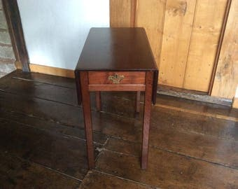 A George 111 Mahogany Pembroke Table With Drawer