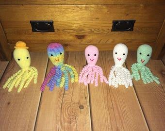 Crochet Baby Octopus