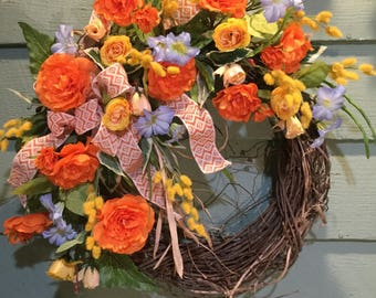 Summer Day Wreath