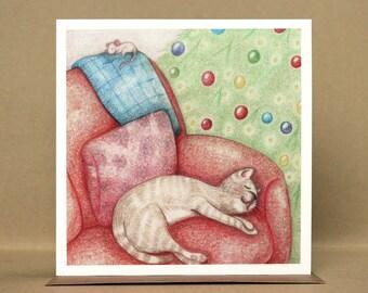 The Christmas Nap Christmas Card