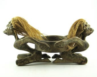 African Tribal Candle Holder