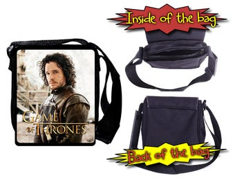 Game of Thrones Jon Snow Kit Harrington Shoulder Bag