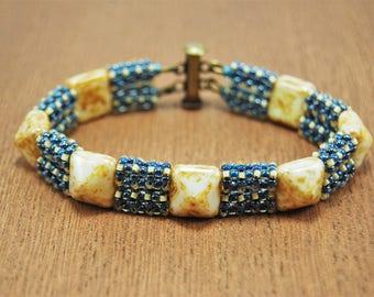 Pyramid Bar Bracelet
