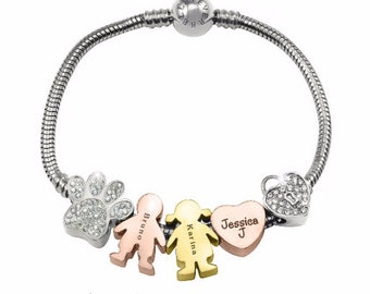 Silver Bracelet, Charm Bracelet, Gifts for Mum, Gifts for Mother,Gifts for Her, Silver Moments Bracelet ONLY 29 (charms are sold separately)