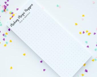Making Magic Notepad
