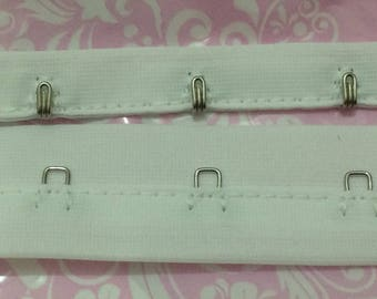 Attached white stapled sew on your creation