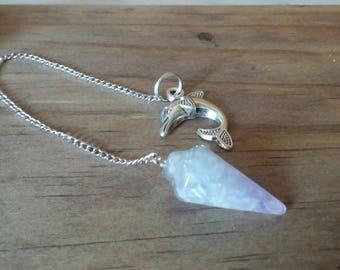 Amethyst  Quartz Pendulum, Spiritual Healing Pendulum, Energy Healing, Chakra Healing