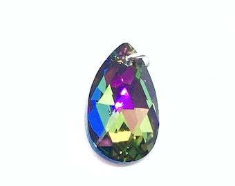 Crystal Vitrail Medium Swarovski pendant.