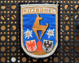 Vintage Ski Patch Kitzbühel