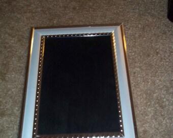 Silver frame Black Mirror