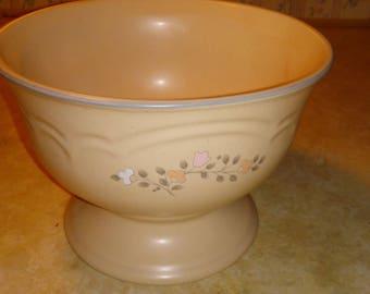 pfaltzgraff remembrance pedastal bowl