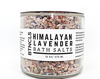 Himalayan Lavender Bath Salts