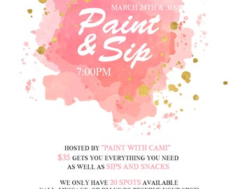 Paint and Sip #2