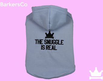 Dog Sweater - The Snuggle Is Real
