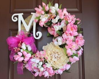 "20"" Spring wreath"