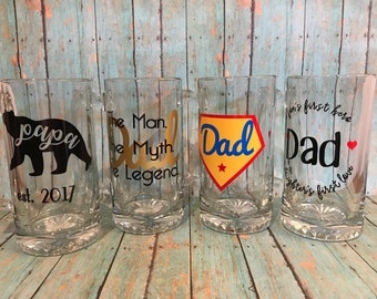 Father's Day Beer Mugs!