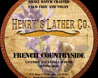 FRENCH COUNTRYSIDE shaving soap